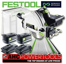 FESTOOL TSC 55 REB-Plus/XL-FS Li 18v Cordless Plunge Saw - 561701