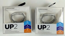 Lot of 2  UP2 by Jawbone Wireless Activity and Sleep Tracker Grey - NEW