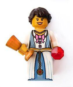 Lego Princess Queen minifigure dragon lion king's castle r.70403 girl toy