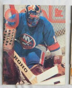 1977 Pittsburgh Penguins - New York Islanders Goal Program 1/22/77