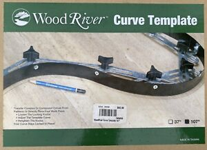 """WoodRiver Curve Template 107"""""""