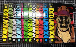 Doomsday Clock 1 - 12  DC Universe Rebirth Watchmen Complete Series Johns Frank