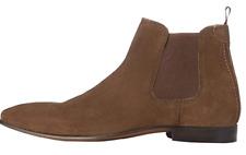 find. Herren Chelsea Boots Gr. 45 Leder Braun