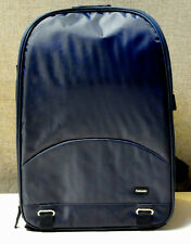 Camera Backpack Case Bag for Canon or Nikon Sony Navy Blue water resistant