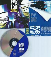 BAD BOYS BLUE-...CONTINUED-1999-GERMANY-CD-MINT-