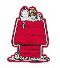 SNOOPY WOODSTOCK RED KENNEL Iron / Sew on Patch Embroidered Badge Cartoon PT111