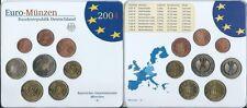 Deutschland Euro-Münzen KMS 2004 D München Stempelglanz Unc. Euro Kursmünzensatz