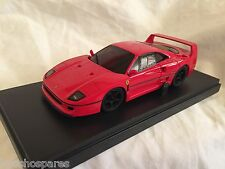 KYOSHO Dnano ASC (RM), RED FERRARI F40, 1:43 DISPLAY MODEL, DNX304R