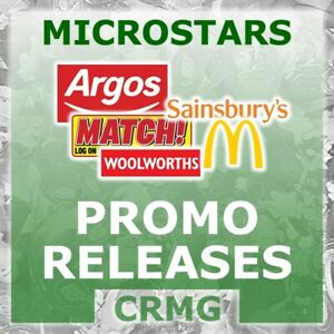 CRMG Corinthian MicroStars PROMOTION EXCLUSIVES (like SoccerStarz)