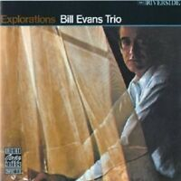 BILL TRIO EVANS - EXPLORATIONS  CD NEW!