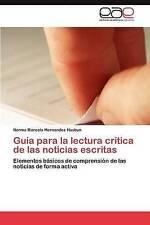 USED (LN) Guía para la lectura crítica de las noticias escritas: Elementos bá