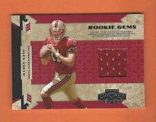 2005 PLAYOFF HONORS ROOKIE GEMS ALEX SMITH JERSEY #d 393/750 SAN FRANCISCO 49ers