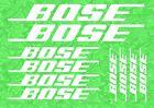 Bose Aufkleber Decals Vinyl Logo Car Audio Sound System Lautsprecher Sponsor Fenster