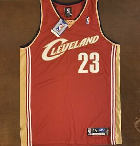 Rare Vintage Reebok NBA Cleveland Cavaliers LeBron James Rookie Jersey