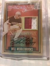 07 Donruss Will Middlebrooks  AUTO ROOKIE 17/25  + SHELBY MILLER Auto RC 37/100