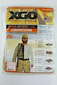 XGO Men's Base Layer Bottoms Pants Midweight Compression Flame Retardant Phase 3
