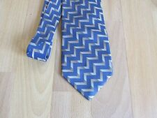 Lines Pattern Ties by H Frogg Jermyn Street London Made in Italy