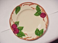"""Franciscan Pottery, """"APPLE"""" Pattern, 6 SALAD / CAKE PLATES, Made in USA  1950's"""