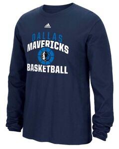 "Dallas Mavericks Adidas NBA ""Rep Big"" Men's Long Sleeve T-Shirt"