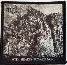 MGLA - With Hearts Toward None -  printed patch - FREE SHIPPING