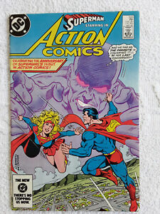 Action Comics #555 (May 1984, DC) FN+ 6.5