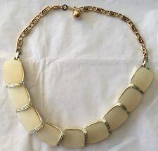 "Vintage Lisner Thermoset Choker Necklace 15 1/2"""