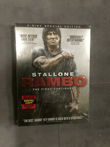 Rambo 2008 DVD 2-Disc Movie Excellent Condition (PLEASE READ)