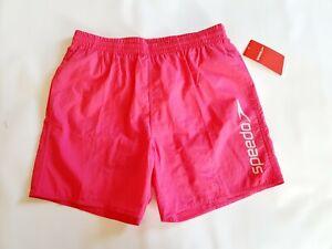 Men's speedo pink modern Swim Shorts swimming trunks pool uk size medium