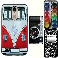 for LG K30/Harmony 2/Premier Pro/Phoenix Plus(Black)TPU Skin Phone Case Cover-H