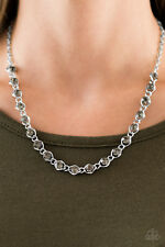 Paparazzi Necklace - Shes A GLAM-eater - Silver