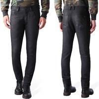Diesel Herren Jeans-Hose   SlimTapered Fit   Tepphar 0669G Lederoptik, UVP*205€