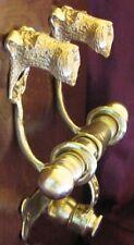 Irish Terrier Bronze Duet Door Knocker