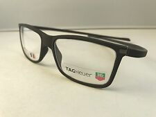 New Authentic TAG HEUER eyeglasses TH 3051 003 gray NWT 49-15-140