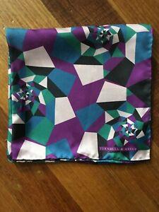 Turnbull & Asser Silk Pocket Square