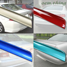 Painted Mercedes W204 C class 4D Sedan Rear Trunk Lip Spoiler 08-13 C300 C250