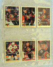 LOT 25 OTTAWA SENATORS1990'S HOCKEY CARDS TURGEON KUDELSKI BEAUPRE