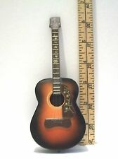 MATTEL BARBIE DOLL ACCESSORY MINIATURE MUSIC GUITAR INSTRUMENT 1/6 PRE-OWNED