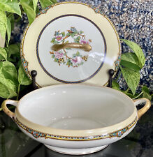 Noritake Argosy Japanese Porcelain China Soup Tureen Casserole Server Floral
