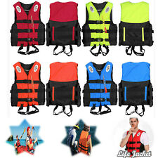 Life Jacket Vest Swimming Adult Fully Enclosed Safety Water Sports kids adults