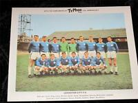 """Ty-Phoo Tea Card """"Football Clubs"""" 2nd Series Leicester City 1965 Excellent"""