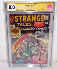 Strange Tales #119 Marvel Comics CGC SS Signature Autograph STAN LEE Spider-Man