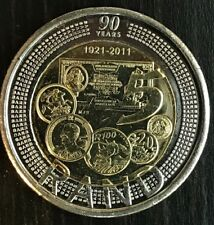 South Africa 2011 SARB BiMetal R5 Uncirculated Coin Features the 2008 Mandela R5