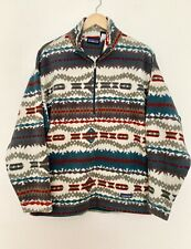 Vintage Quarter Zip Patagonia Aztec Print Pullover