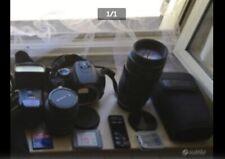 Reflex digitale Canon 350D con accessori