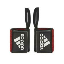 Adidas Power Lifting Wrist Wraps Weight Training Strap Gym Bodybuilding Support