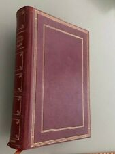 fine full leather Binding 1935 Oxford Press THE COMPLETE WORKS OF SHELLEY