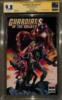 Guardians of the Galaxy 1 Briclot Mint Variant SS CGC 9.8 NM/M Signed Cates