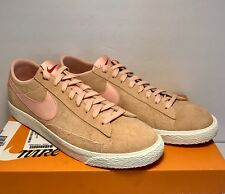 Nike Mens Size 11 Blazer Low Pink Suede Athletic Sneaker Casual Shoes