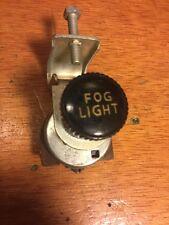 VINTAGE UNDER DASH 6V 12V FOG LIGHT SWITCH SCTA RAT ROD HOT TRUCK VINTAGE DASH b