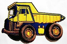 DUMP TRUCK ENGINE Embroidered Iron on Patch Free Shipping